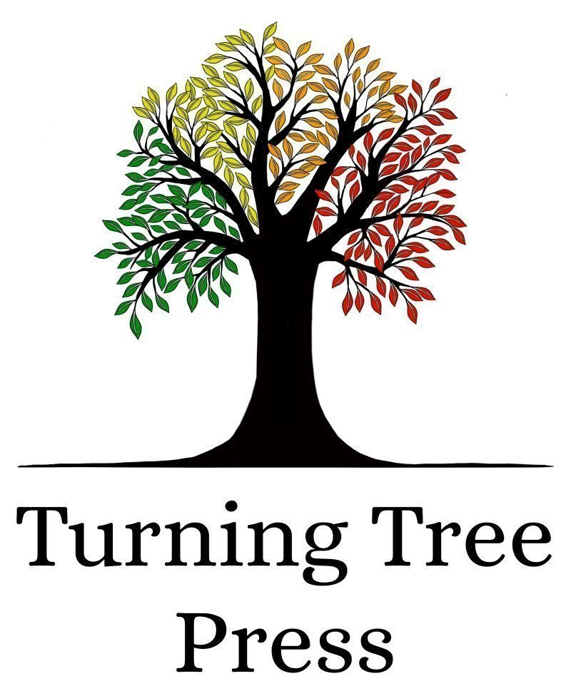 Colored Tree Logo add text 2 lines 800 px